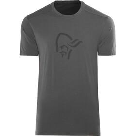 Norrøna /29 Cotton Logo t-shirt Heren zwart